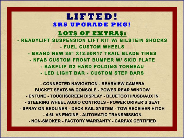 2016 Toyota Tundra SR5 Double Cab 4WD - LIFTED - UPGRADE PKG! Mooresville , NC 1