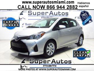 2016 Toyota Yaris LE Doral (Miami Area), Florida