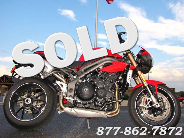 2016 Triumph SPEED TRIPLE 1050 S SPEED TRIPLE 1050 S McHenry, Illinois 0