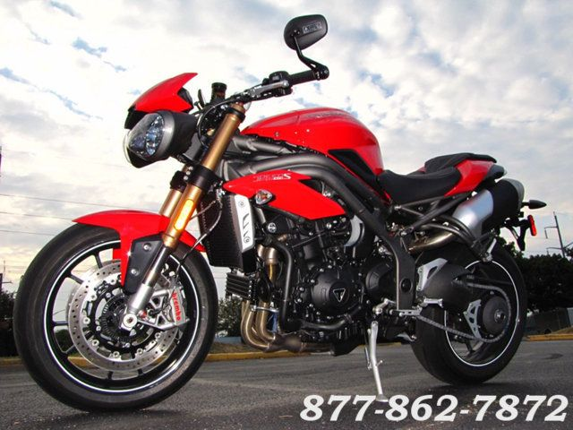 2016 Triumph SPEED TRIPLE 1050 S SPEED TRIPLE 1050 S McHenry, Illinois 38