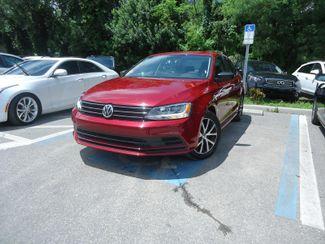 2016 Volkswagen Jetta TSI SE. CAMERA. HTD SEATS. PUSH STRT. APPLECARPLY SEFFNER, Florida