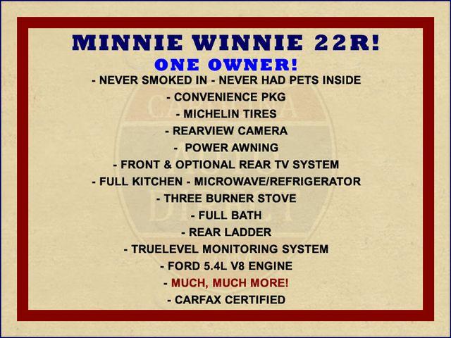 2016 Winnebago Minnie Winnie 22R W/ CONVENIENCE PKG! Mooresville , NC 1