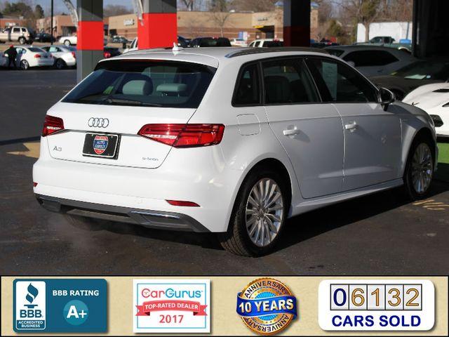 2017 Audi A3 Sportback e-tron Premium FWD - PHEV HYBRID - LIKE NEW! Mooresville , NC 2