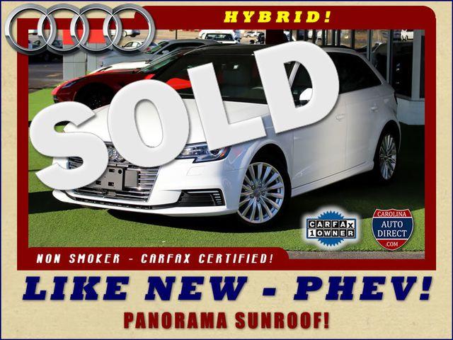2017 Audi A3 Sportback e-tron Premium FWD - PHEV HYBRID - LIKE NEW! Mooresville , NC 0