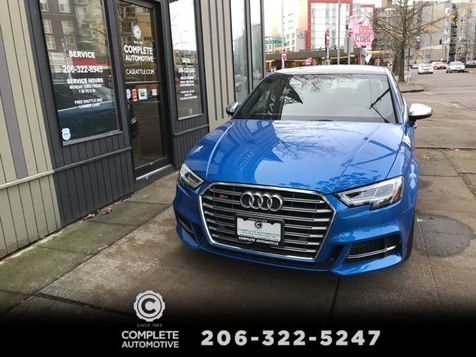 2017 Audi S3 2.0T Quattro 292 HP Dynamic Package Premium Plus S Sport Seats Bang & Olufsen It's New in Seattle