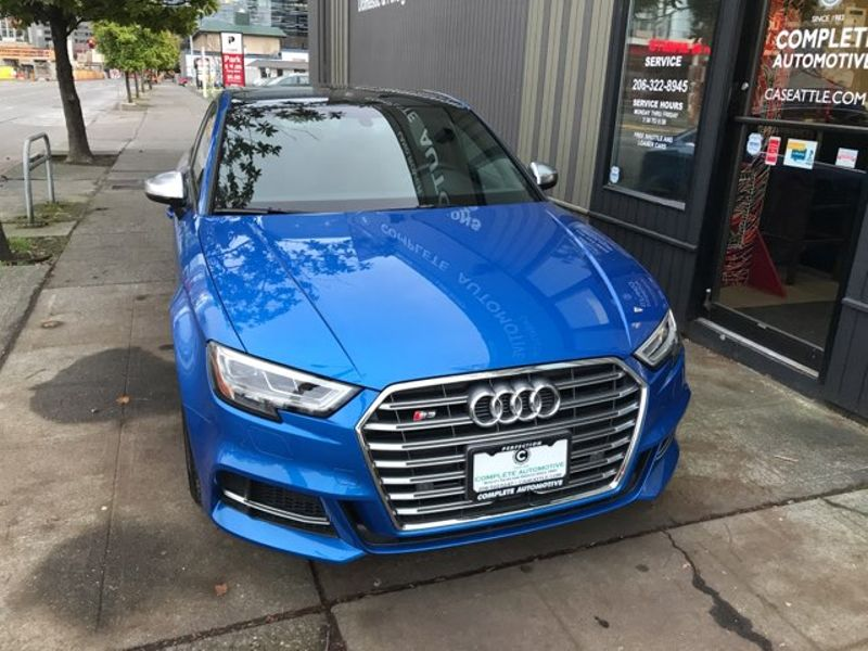 2017 Audi S3 20T Quattro 292 HP Dynamic Package Premium Plus S Sport Seats Bang  Olufsen Its New  city Washington  Complete Automotive  in Seattle, Washington