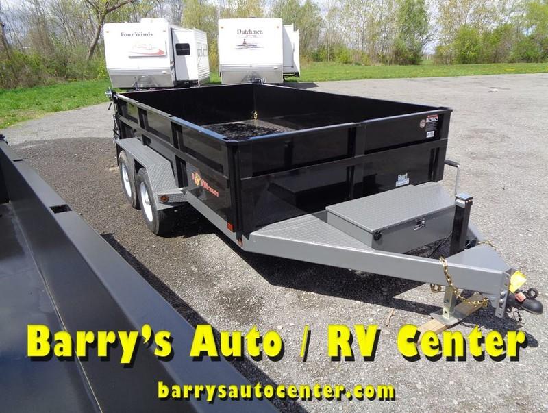 2017 B-Wise DLP12W-10 Dump Trailer  city NY  Barrys Auto Center  in Brockport, NY