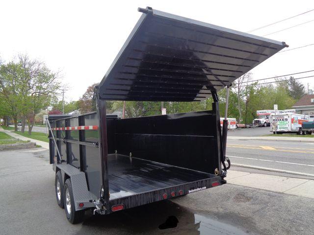 2017 B-Wise DU16-15 Ultimate Dump Trailer  city NY  Barrys Auto Center  in Brockport, NY