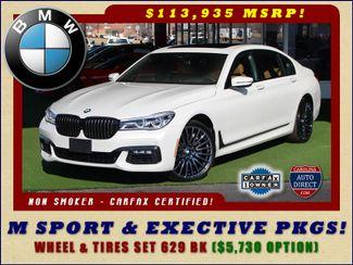 2017 BMW 750i RWD - M SPORT, EXECUTIVE & DRIVER PLUS II PKGS! Mooresville , NC