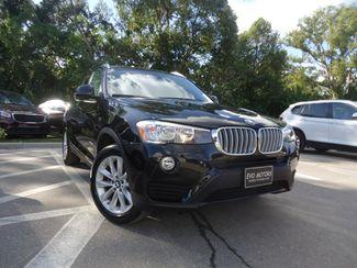 2017 BMW X3 xDrive28i XDRIVE28I ALL WHEEL DRIVE. PANORAMIC. NAVI SEFFNER, Florida 7