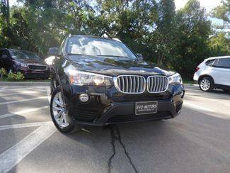 2017 BMW X3 xDrive28i XDRIVE28I ALL WHEEL DRIVE. PANORAMIC. NAVI SEFFNER, Florida 8