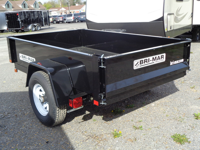 2017 Brimar DTR508LP-5-D Dump Trailer  city NY  Barrys Auto Center  in Brockport, NY