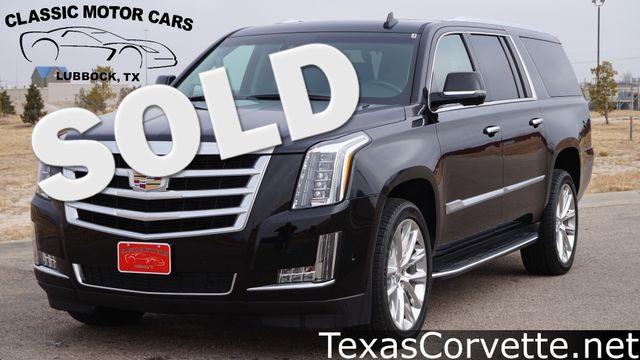 2017 Cadillac Escalade ESV Luxury | Lubbock, Texas | Classic Motor Cars