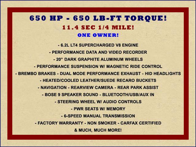 2017 Chevrolet Camaro ZL1 - NAV - PERFORMANCE DATA RECORDER! Mooresville , NC 1