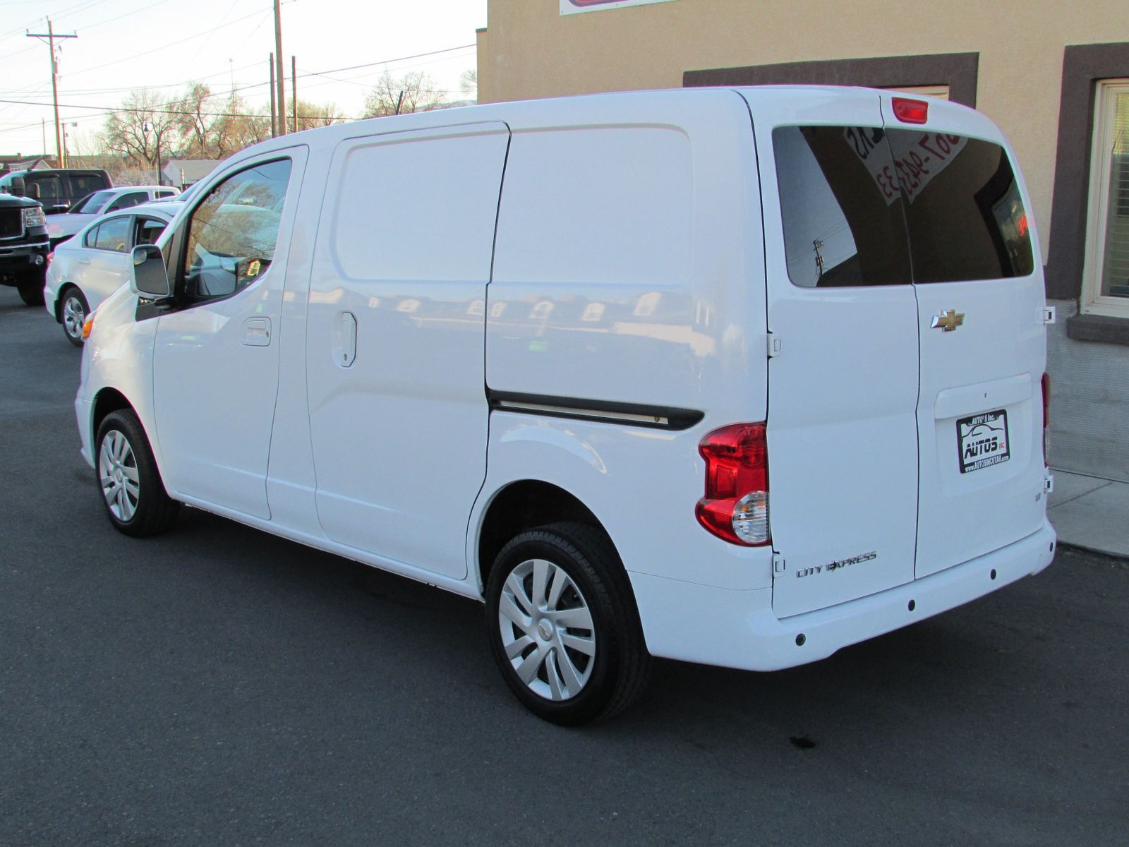 auto express listing cargo chevrolet van cooley