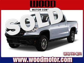 2017 Chevrolet Colorado 4WD ZR2 Harrison, Arkansas