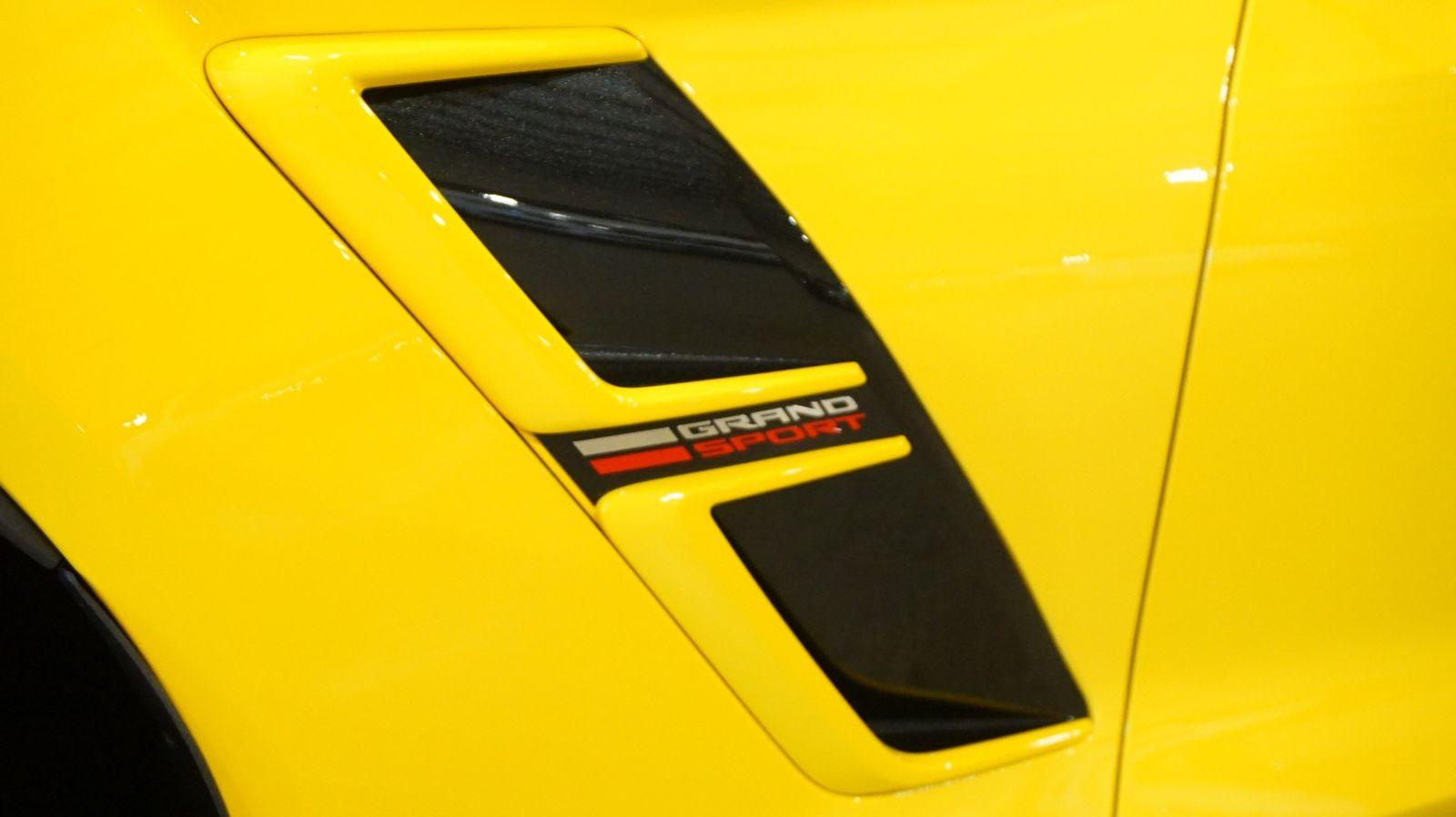 2017 Yellow Chevrolet Corvette Grand Sport 1LT | C7 Corvette Photo 2