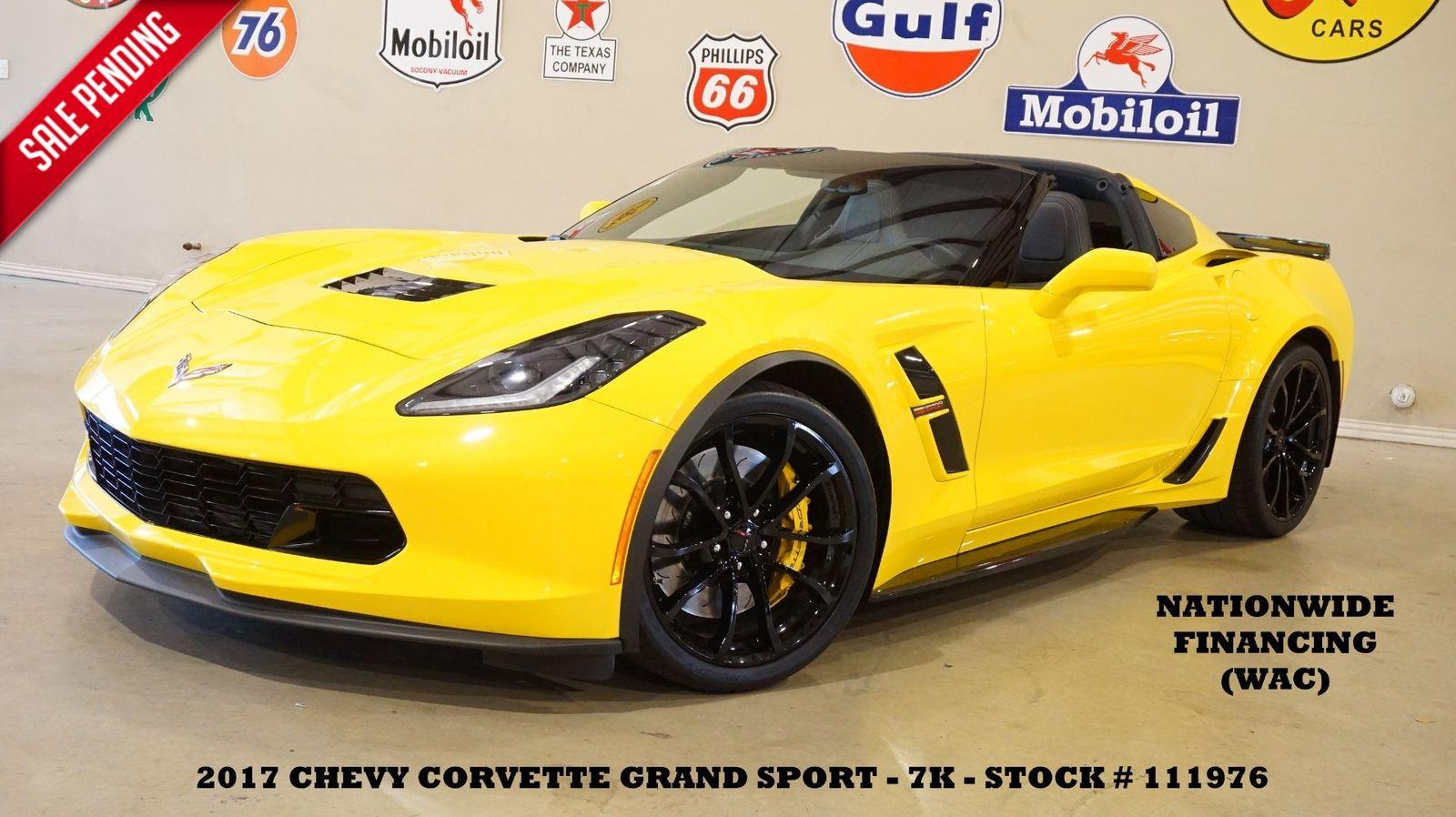 2017 Yellow Chevrolet Corvette Grand Sport 1LT | C7 Corvette Photo 1