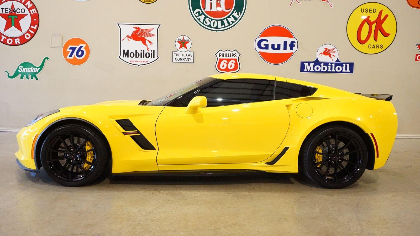 2017 Yellow Chevrolet Corvette Grand Sport 1LT | C7 Corvette Photo 3