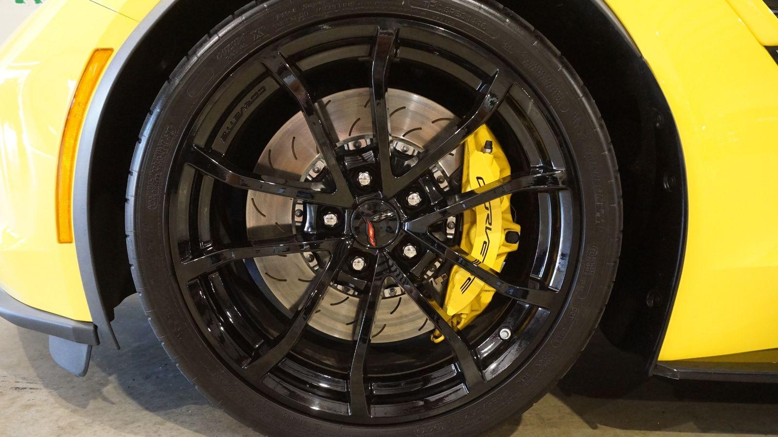 2017 Yellow Chevrolet Corvette Grand Sport 1LT | C7 Corvette Photo 10