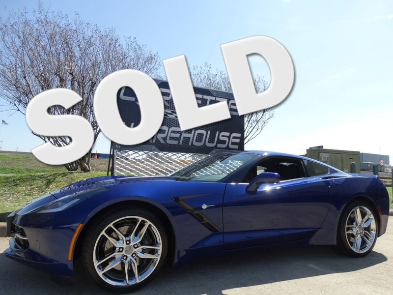 2017 Chevrolet Corvette Coupe Z51, 2LT, NAV, Auto, Chromes 5k! | Dallas, Texas | Corvette Warehouse