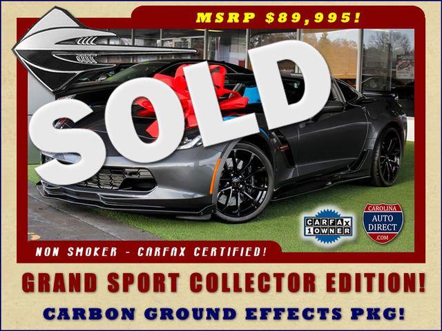 2017 Chevrolet Corvette Grand Sport Collector Edition 3LT - MSRP $89,995! Mooresville , NC 0
