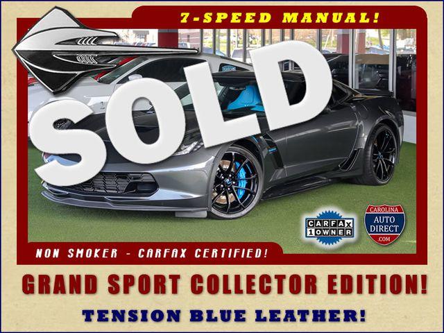 2017 Chevrolet Corvette Grand Sport Collector Edition 3LT - TENSION BLUE! Mooresville , NC 0