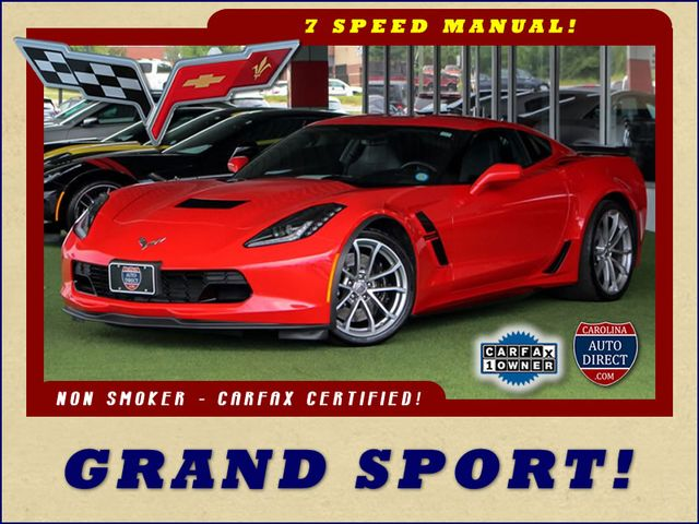 2017 Chevrolet Corvette Grand Sport 1LT - 1 OWNER - 7SP MANUAL! Mooresville , NC 0