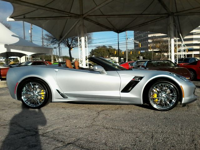2017 Chevrolet Corvette Z06 3LZ Convertible San Antonio, Texas 4