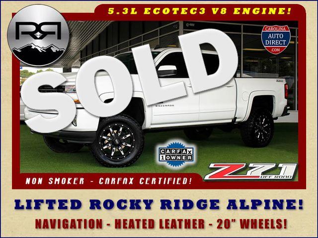 2017 Chevrolet Silverado 1500 LT Crew Cab 4x4 Z71 ROCKY RIDGE ALPINE EDITION! Mooresville , NC 0
