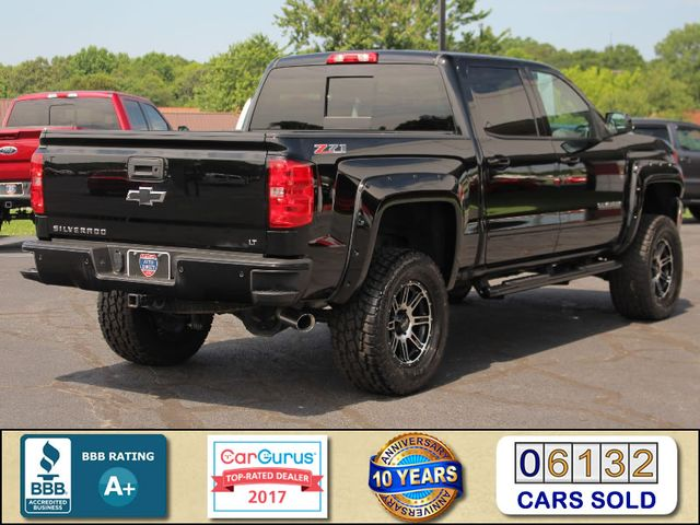 2017 Chevrolet Silverado 1500 LT PLUS Crew Cab 4x4 Z71 - LIFTED - EXTRA$! Mooresville , NC 2