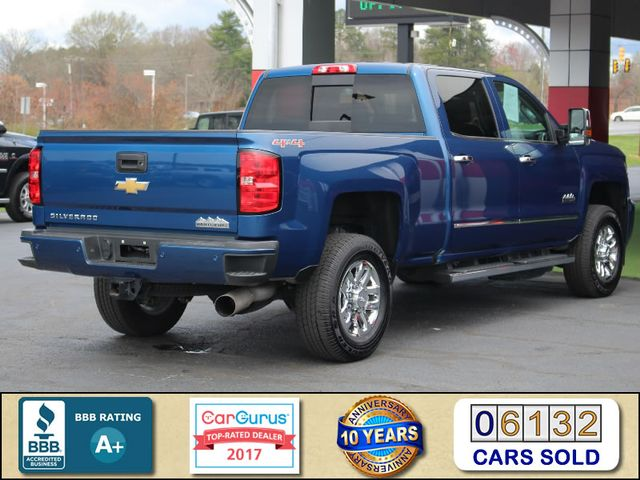 2017 Chevrolet Silverado 3500HD High Country Crew Cab 4x4 - NAV - SUNROOF! Mooresville , NC 2