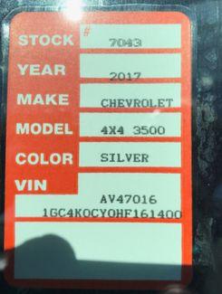 2017 Chevrolet Silverado 3500HD LTZ Nephi, Utah 13