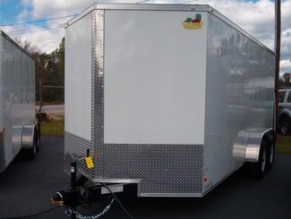 2017 Covered Wagon 7x16 5 Ton Enclosed in Madison, Georgia