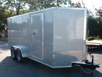 2017 Covered Wagon Enclosed 7x16 5 ton in Madison, Georgia