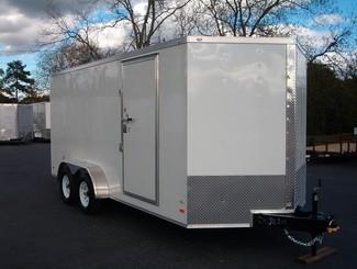 2017 Covered Wagon 7x16 Barn Doors Enclosed in Madison, Georgia