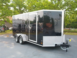 2017 Covered Wagon 7x16 Enclosed in Madison, Georgia