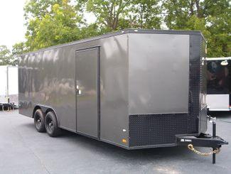 2017 Covered Wagon 8-1/2x20 Encloded 5 ton Car Hauler in Madison, Georgia
