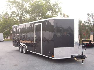 2017 Covered Wagon 8.5x24 5 ton Car hauler in Madison, Georgia