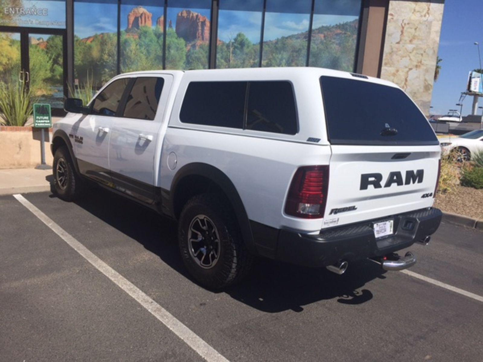 2017 Dodge Camper Shells Truck Caps Truck Toppers Mesa