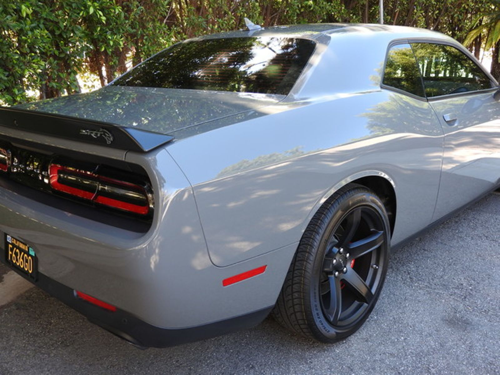 2017 Destroyer Gray Dodge Challenger Srt Hellcat Hellcat