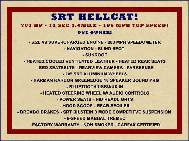 2017 Dodge Challenger SRT Hellcat NAV - SUNROOF - 199 MPH TOP SPEED! Mooresville , NC 1