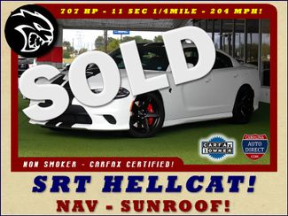 2017 Dodge Charger SRT Hellcat - NAV - SUNROOF - 204 MPH TOP SPEED! Mooresville , NC