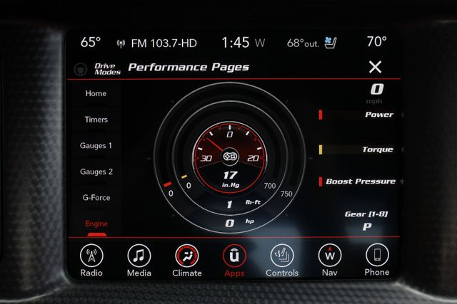 2017 Dodge Charger SRT Hellcat - NAV - SUNROOF - 204 MPH TOP SPEED! Mooresville , NC 51