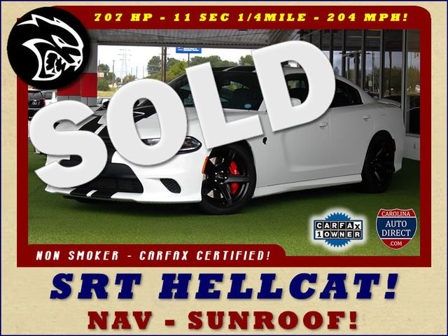 2017 Dodge Charger SRT Hellcat - NAV - SUNROOF - 204 MPH TOP SPEED! Mooresville , NC 0