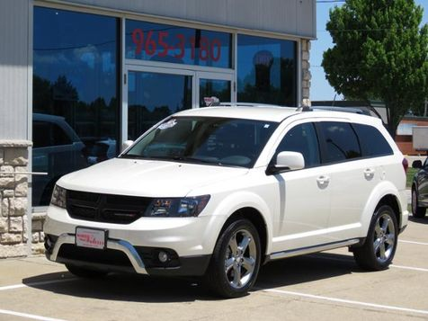 2017 Dodge Journey Crossroad Plus Pearl White AWD ONLY 16,000 MILES! in Ankeny, IA
