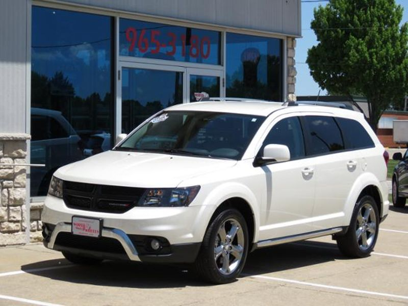 2017 Dodge Journey Crossroad Plus Pearl White AWD ONLY 16,000 MILES! in Ankeny IA