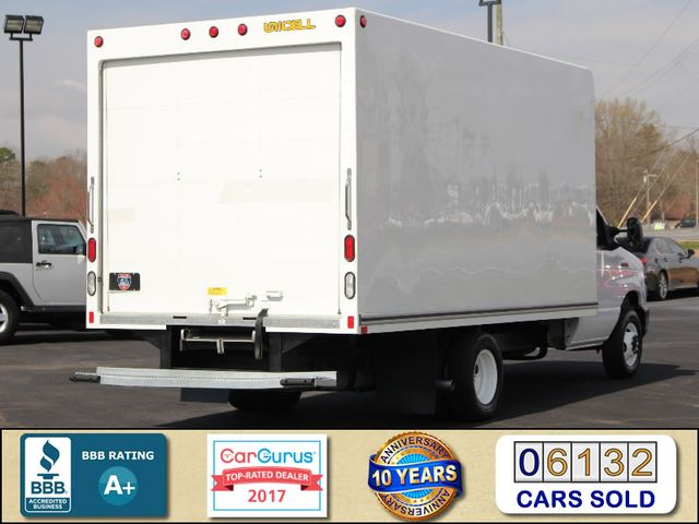 2017 Ford E-Series Cutaway E350  UNICELL 15' BOX TRUCK/VAN Mooresville , NC 2