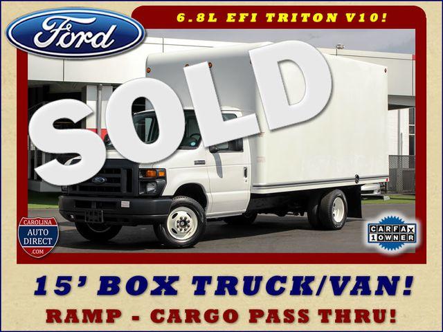 2017 Ford E-Series Cutaway E350  UNICELL 15' BOX TRUCK/VAN Mooresville , NC 0