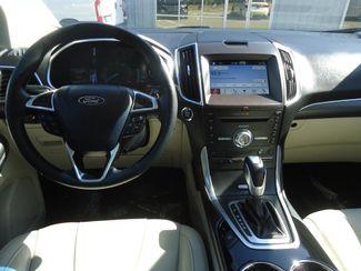 2017 Ford Edge Titanium. PANORAMIC. NAVI. AIR COOLED SEATS SEFFNER, Florida 25
